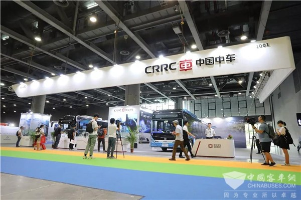 氢启未来 智由心生 中车电动两款经典车型闪耀广州新能源智能车展