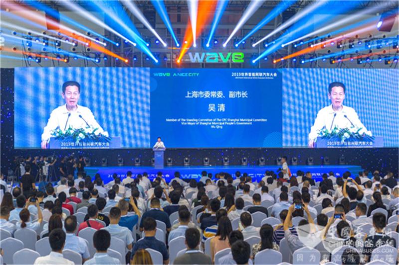 苏州金龙再秀无人驾驶亮相2019世界智能网联汽车大会