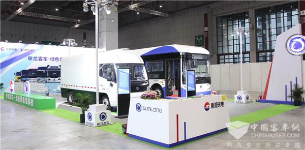 工博会、东博会齐亮相 申龙客车再秀新能源技术实力