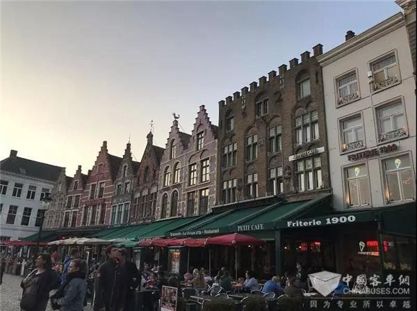 在比利时布鲁塞尔 和中车电动来一次别样邂逅