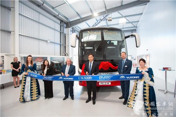 从0到突破500辆 宇通客车出口英国再上新台阶!