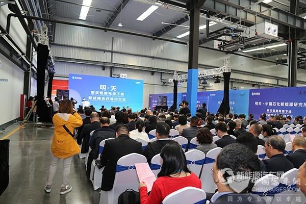 龙蟠科技携手明天氢能 国内首台氢能源自主技术产业化电堆下线