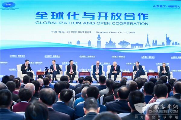 青岛峰会看潍柴|谭旭光:内燃机行业未来仍将大有可为