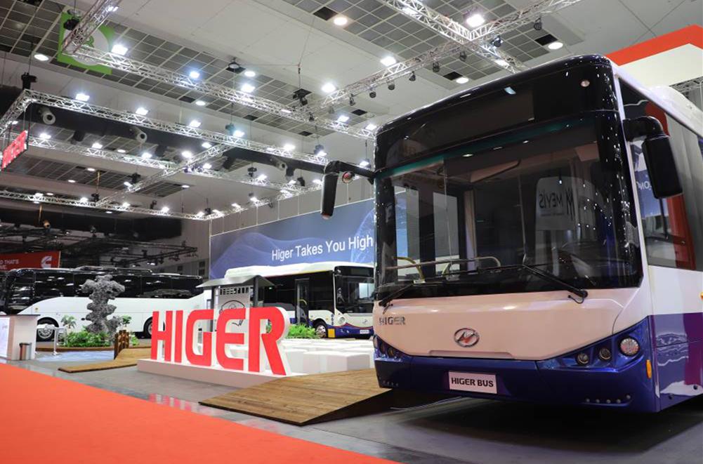 2019比利时世界客车博览会|海格展台