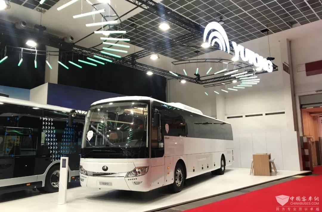 2019比利时世界客车博览会|宇通展台
