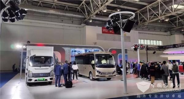 内外焕新!比亚迪全新一代C6纯电动客车闪耀2019世界智能网联汽车大会