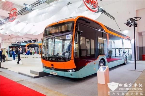 比利时客车展|看比亚迪纯电大巴开拓欧洲之路