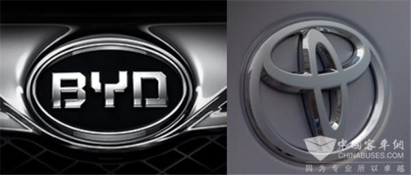 各出资50 比亚迪与丰田成立纯电动车研发合资公司