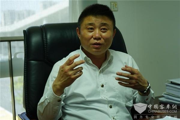 上海嘉定公交副总经理王令飞:稳中求进 变中领先 嘉定公交一路前行