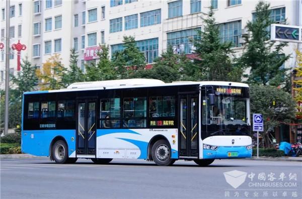 2020中国商用车年度车型评选 亚星客车荣获城市之星