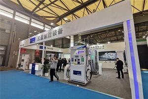 CIB EXPO 2019上海国际客车展--三盈氢能源展台