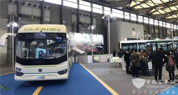 充电10分钟,续航200KM!申沃携两款智能快充式电动城市客车亮相上海车展