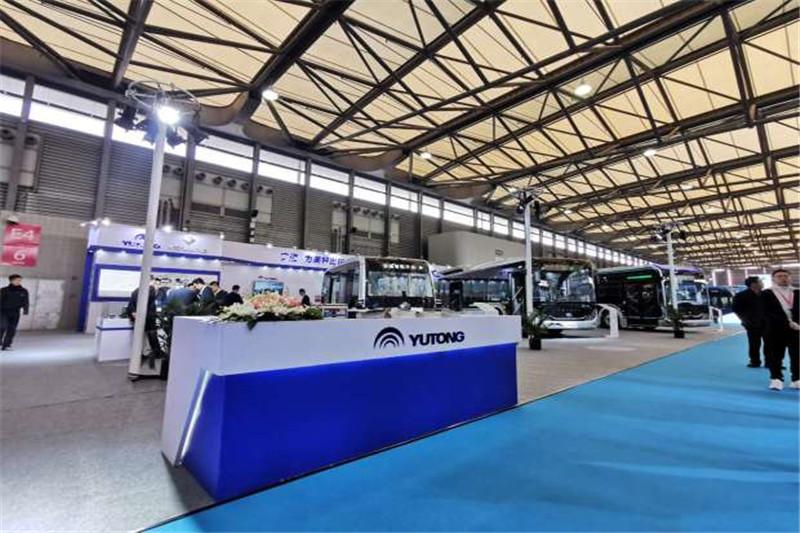 CIB EXPO 2019上海国际客车展--宇通展台