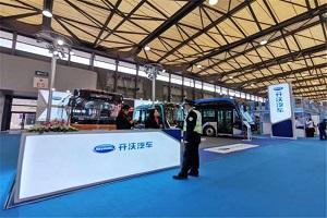 CIB EXPO 2019上海国际客车展--开沃汽车