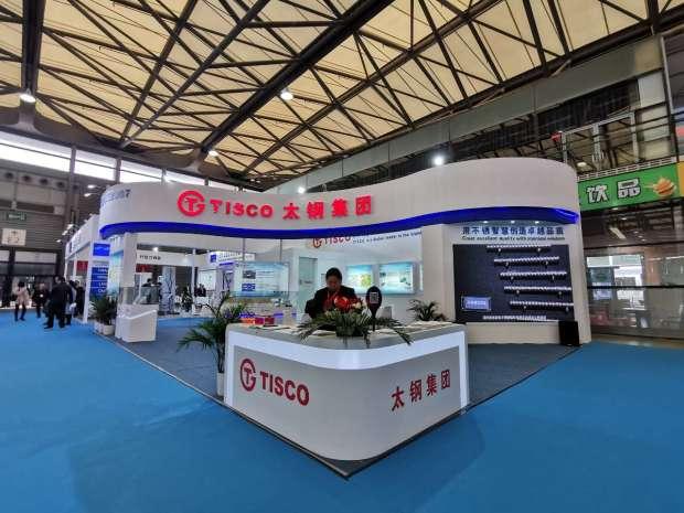CIB EXPO 2019上海国际客车展--太钢集团展台