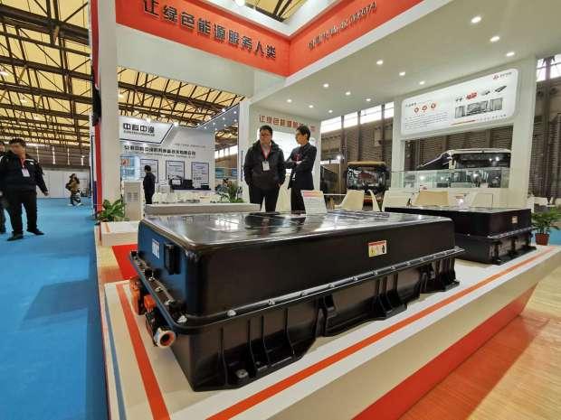 CIB EXPO 2019上海国际客车展--国轩高科展台