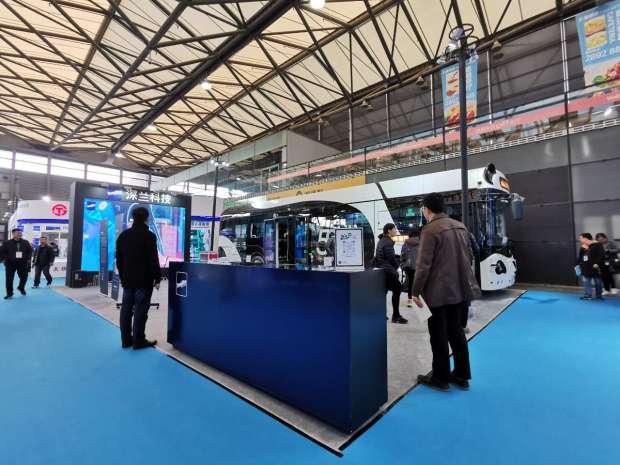 CIB EXPO 2019上海国际客车展--深兰科技展台