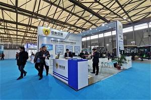 CIB EXPO 2019上海国际客车展--中科中涣展台