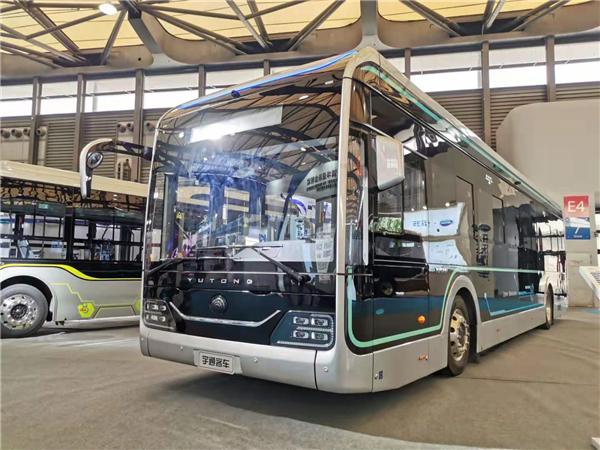 新造型公交+自动驾驶巴士 2019上海国际客车展宇通看点