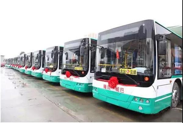 洋气!中车新能源客车让革命老区享受绿色公交的魅力