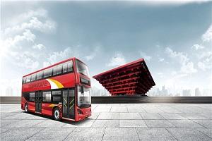 比亚迪BYD6100LSEV5低入口双层公交车(纯电动28-45座)