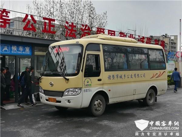 城乡客车,交通运输部普及惠民带来的机遇