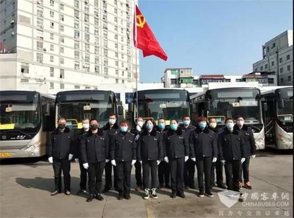 阜阳公交全力做好复运复工准备工作
