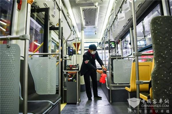部分城市公交重新开行,有序恢复!