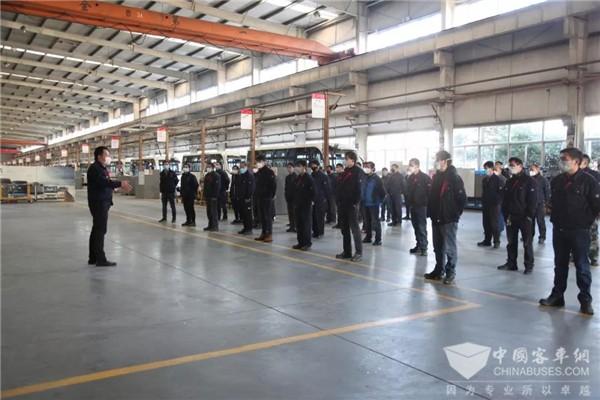 上下一心 共克时疫! 上海申龙客车正式复工