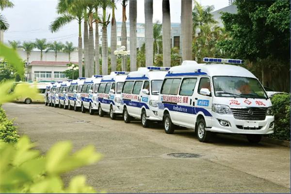 科普 一图读懂金旅海狮C型防疫救护车