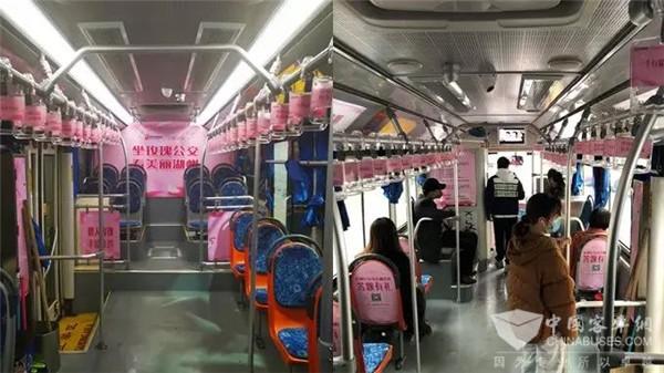 """乘欧辉赏美景,走进湖州""""玫瑰红""""公交风景线"""