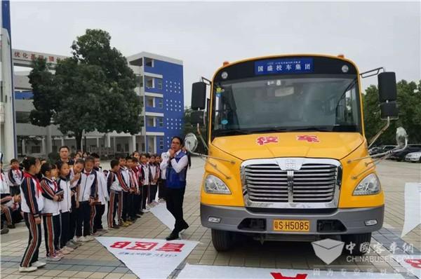 80台中通健康校车将投放东莞,助力当地学子安全复学