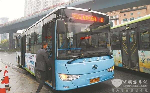 哪里乘客多,公交车就走哪里!厦门首条灵活公交线路试运行