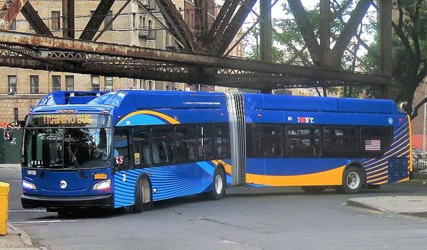 美国纽约州拟投入2400万美元购置纯电动公交车