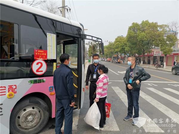 湖北公交客流逐渐恢复 仍担负防疫保障运输