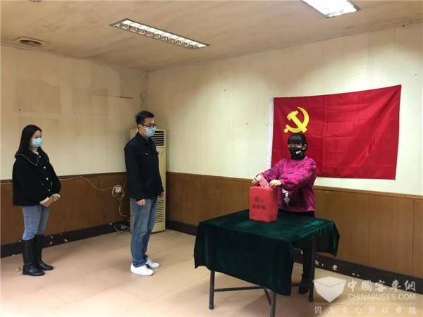 福州公交集团党委积极组织广大党员捐款支持疫情防控工作