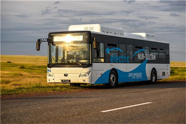 百台宇通纯电动公交驶入哈萨克斯坦