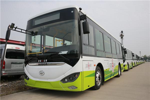 30辆苏州金龙蔚蓝助力广东茂名绿色出行