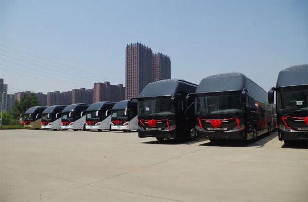 100辆!第四批百路佳朝觐客车发往沙特