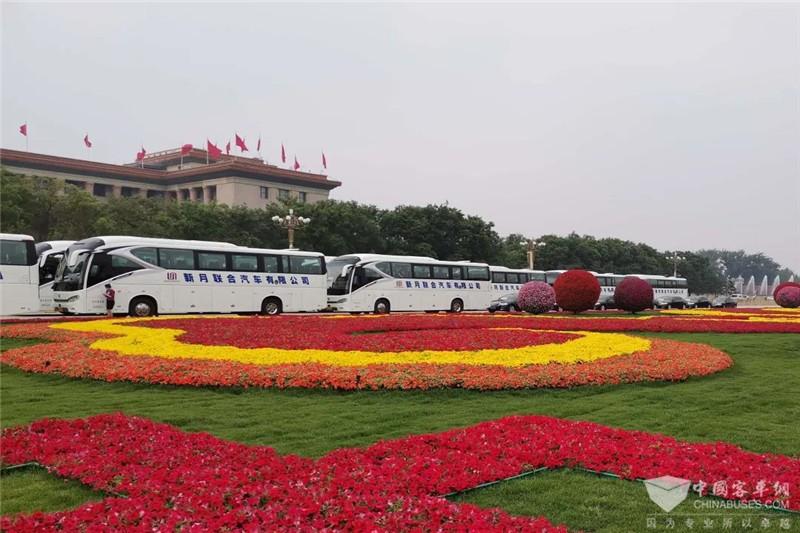 金旅客车连续23年服务全国两会