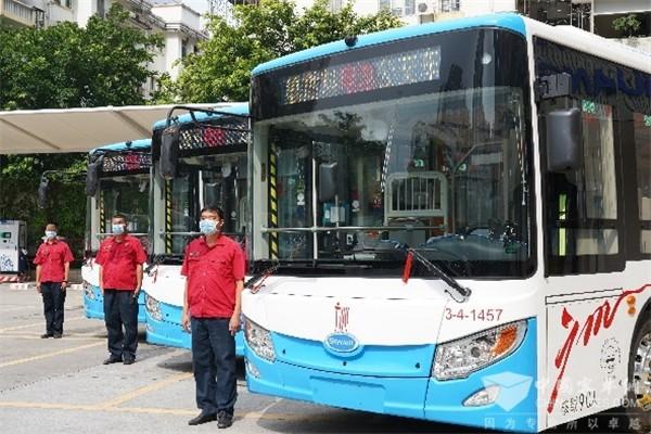 公交车+氢能源!开沃汽车助力广州公交迈入氢能产业新时代