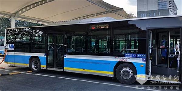 公交车10分钟充满电!北京最大超快EV充电站上线