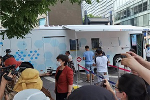 """福田欧辉全国首创抗疫""""战车""""获央视""""点赞"""""""
