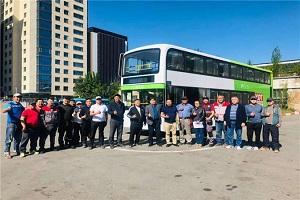 开沃G12亮相乌兰巴托!中国双层电动大巴首次驶入蒙古