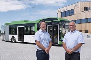 比亚迪全球首批纯电动城际大巴交付 北欧运营超200台