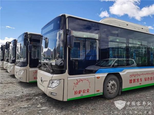 首批国六客车交付!福田欧辉客车助力拉萨绿色交通品质升级(图5)
