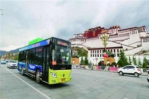 首批国六客车交付!福田欧辉客车助力拉萨绿色交通品质升级