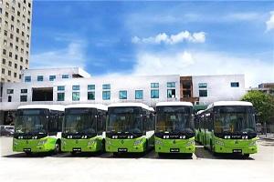 绿色出行 共建未来 18辆欧辉客车交付茂名交投
