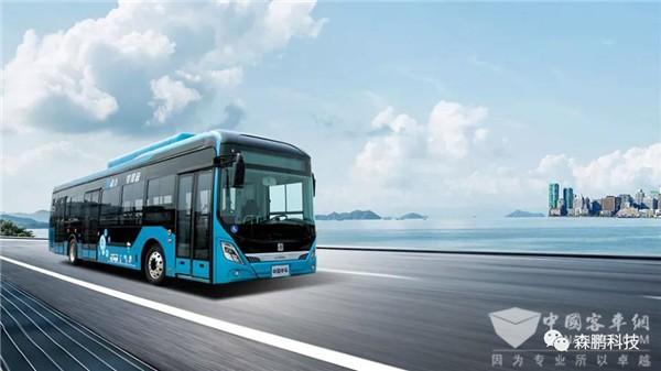 森鹏全芯片数字配电模块在中车电动氢燃料电池客车上的应用