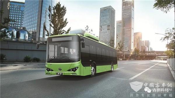 森鹏电子后视镜在比亚迪K9纯电动公交上的应用